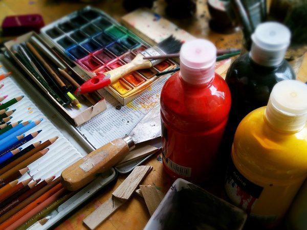 Se lancer et apprendre la peinture